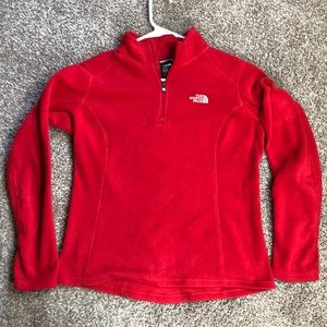 The North Face 1/4 Zip SoftFleece Pullover Sweater